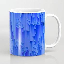 Melted, blue Coffee Mug