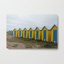 Littlehampton Beach_5 Metal Print
