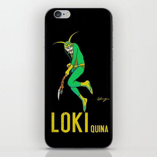 Loki Quina iPhone Skin