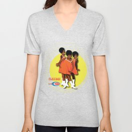The Marvelettes Subway Soul Unisex V-Neck