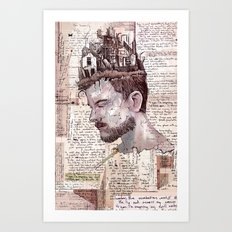 Self Construct Art Print