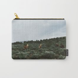 Nevada Horses Carry-All Pouch