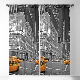 NYC - Yellow Cabs - CityLight Blackout Curtain