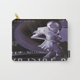 PSO J318.5-22 : NASA Retro Solar System Travel Poster Carry-All Pouch
