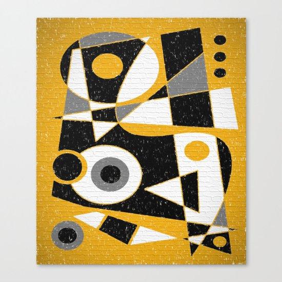 Abstract #385 Wall Art Canvas Print