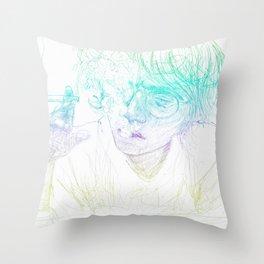 A drag v2 Throw Pillow