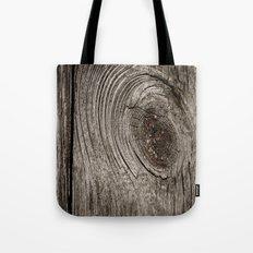 Wood Tote Bag