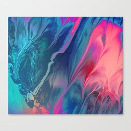 Color scattering Canvas Print