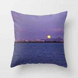 """ Full moon"" Throw Pillow"