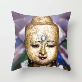 The Buddha Throw Pillow