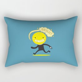 Bright Bulb Rectangular Pillow