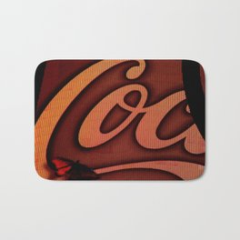 Coke Butterfly Bath Mat