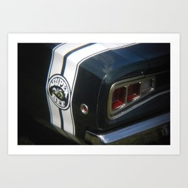 Superbee Art Print
