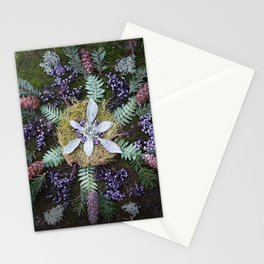 Nature Mandala: January Stationery Cards