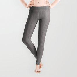 Slate Violet Gray SW9155 Smooth Wood Grain Pattern Leggings
