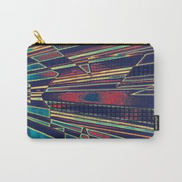 Colorful Op Art Carry-All Pouch