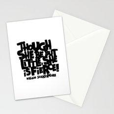 LITTLE FIERCE Stationery Cards