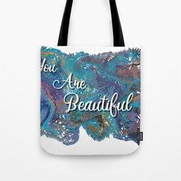 You are beautiful colorful design Tote Bag