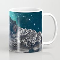 jazzberry Mugs featuring Under the Stars (Ursa Major) by soaring anchor designs
