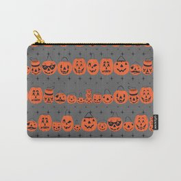 Trick or Treat Smell My Feet- Grey Carry-All Pouch