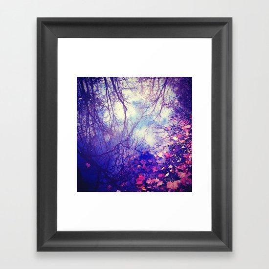 Winter Reflection Framed Art Print