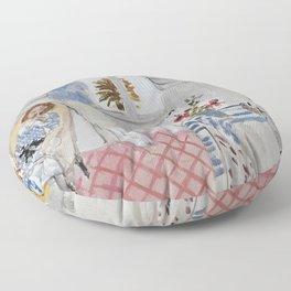 Henri Matisse - Boudoir - Exhibition Poster Floor Pillow