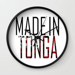 Made in Tonga Wall Clock