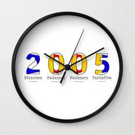 2005 - NAVY - My Year of Birth Wall Clock