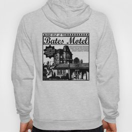 Bates Motel Advertisement - Black Type Hoody