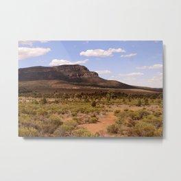 Rawnsley Bluff in the Australian Flinders Ranges Metal Print