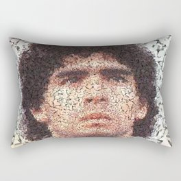 Homage to Maradona  Rectangular Pillow