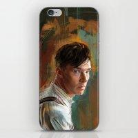 cumberbatch iPhone & iPod Skins featuring B. Cumberbatch by Wisesnail
