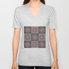 Squares7 Unisex V-Neck