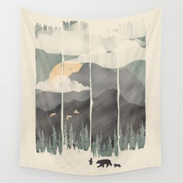 Spring Mountain Weather Wall Tapestry