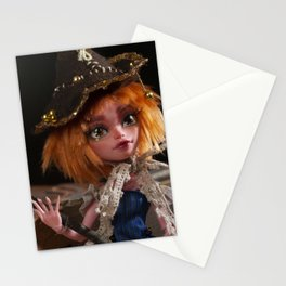 Little witch fairy Stationery Cards