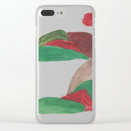 1   | Mountain Watercolour Painting  | 190402 Clear iPhone Case