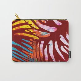 Tropic leaves on sunset Carry-All Pouch
