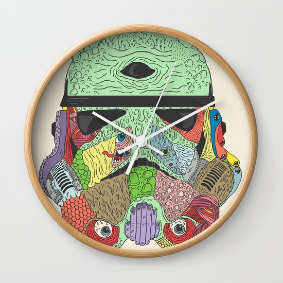 Gore Trooper  Wall Clock