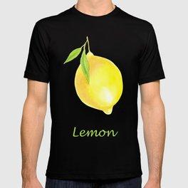 Lemons and leaves T-shirt