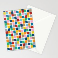 Colour Block Outline Stationery Cards