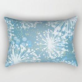 Dandelion Dance Rectangular Pillow