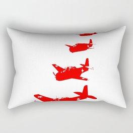Talking Heads - Remain in Light (Back) Rectangular Pillow