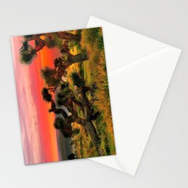Sunset at Joshua Tree National Park, California, USA Stationery Cards