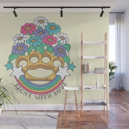 Fight with Love Wall Mural
