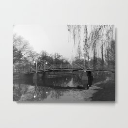 Victoria Park in Black/White - Kitchener, ONT Metal Print