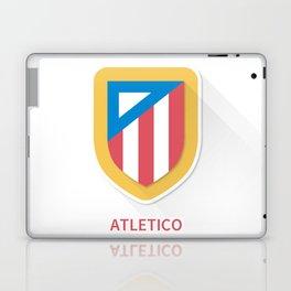Atletico Madrid Smooth Logo Laptop & iPad Skin