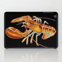 lobster iPad Cases featuring Maine Lobster by Tim Jeffs Art