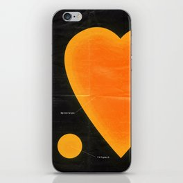 My Love For You iPhone Skin