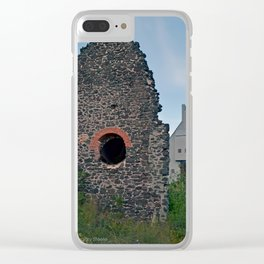 Quincy Hill Mine Shaft and Ruins Clear iPhone Case