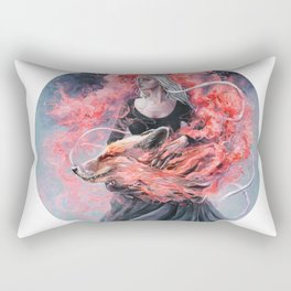 DragonFox Rectangular Pillow